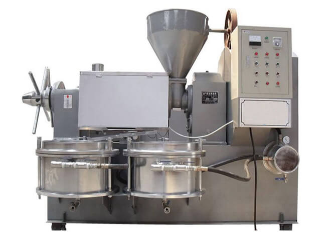 6YL-130A automatic oil mill machine