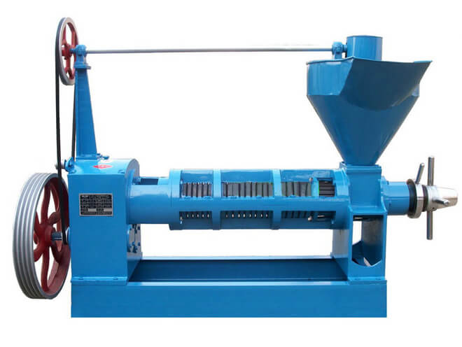 6YL-150 screw oil press expeller machine