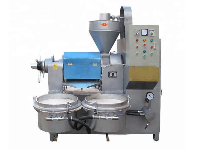6YL-80A edible screw oil extraction machine