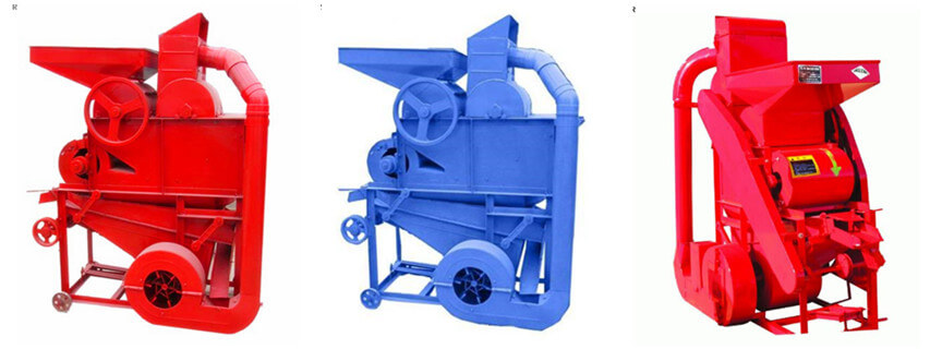 automatic agricultural peanut shelling machine