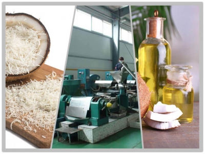 coconut oil production line