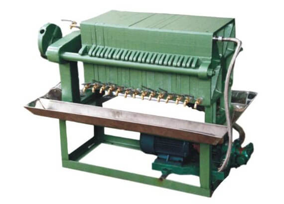 frame cooking oil filter machine