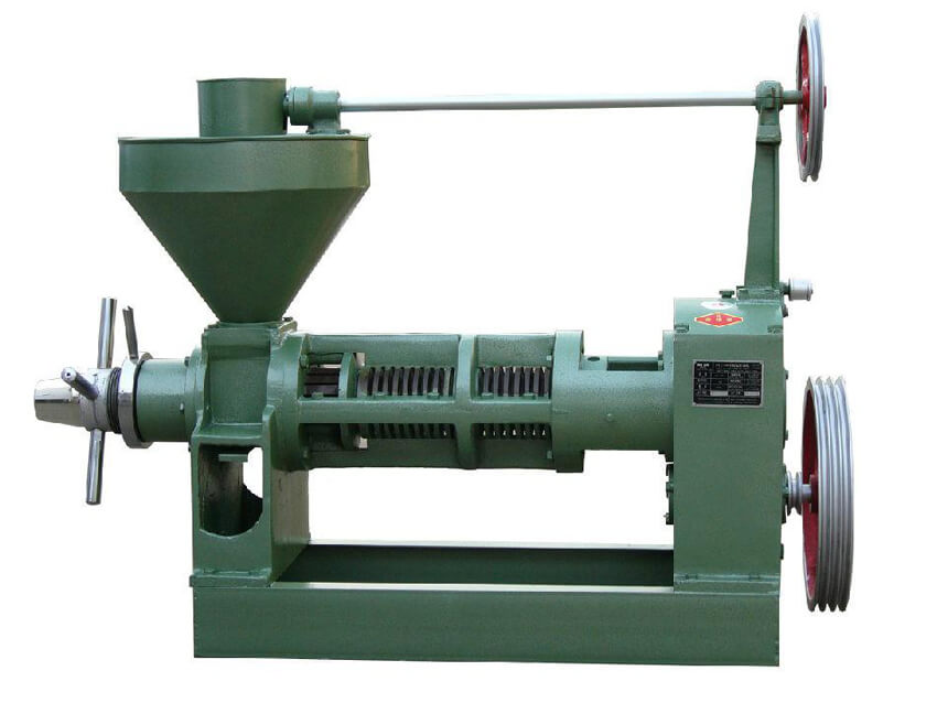 how to run new oil press machine