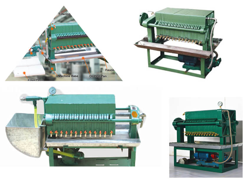 oil frame filter press