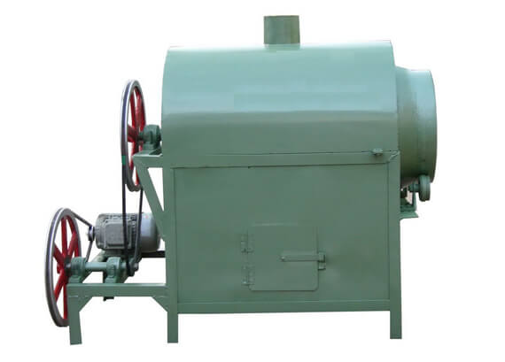 oil seed roasting machine-rotary drum type