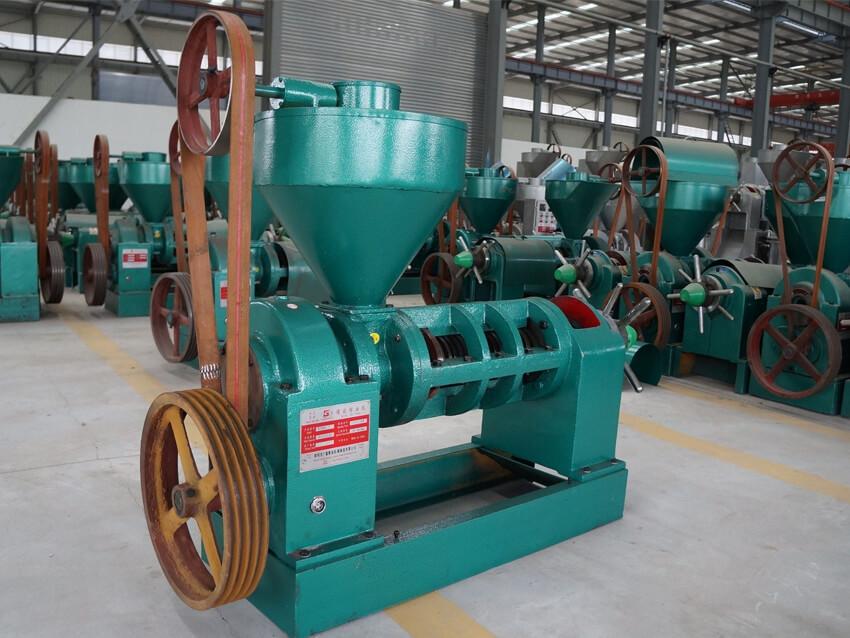 screw oil press for small oil mill