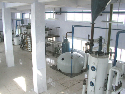 solvent extraction plant for making vegetable oil
