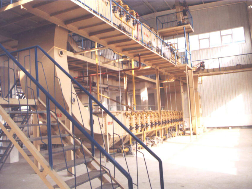 soybean oil extractor in soybean oil plant