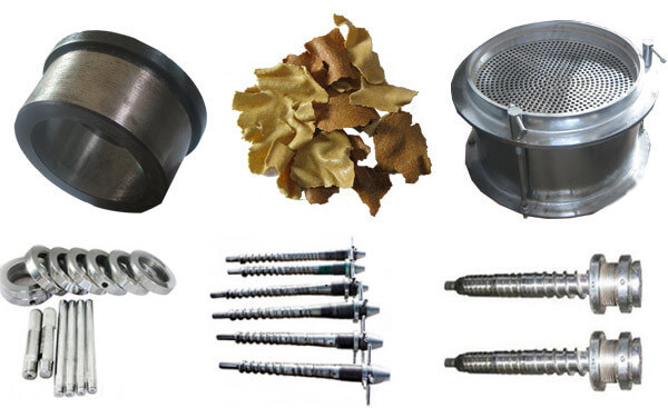 spare parts of industrial screw oil machine