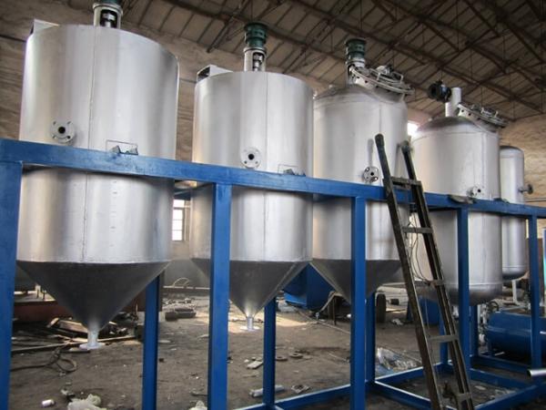 unité de système de raffinerie