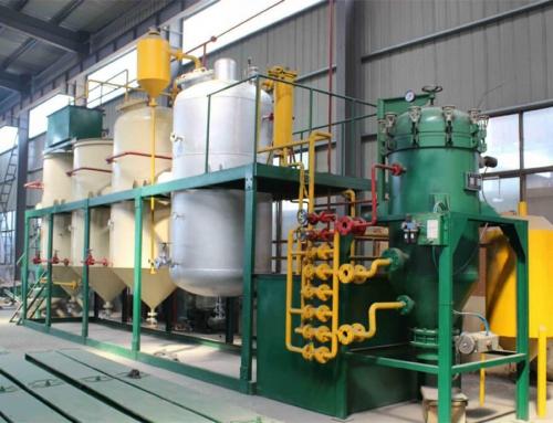 Système de raffinage d'huile