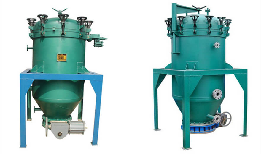 6YB blade oil filter machine