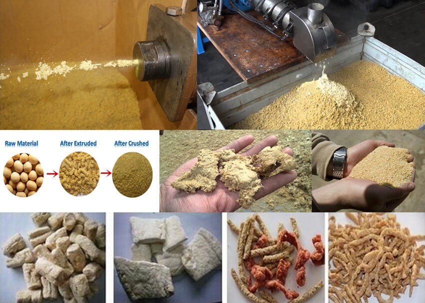 puffed soybeans for making soybean oil